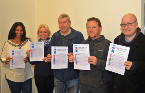 Photo 5 - Include-IT Mersey completed learners (Age UK Wirral)